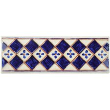 "Stona 8"" x 2.75"" Tile Trim in Rocinante Azul"