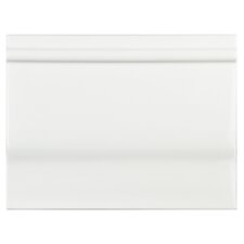"Thira 6"" x 8"" Ceramic Tile Trim in Blanco"
