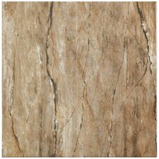 """Padua 12.5"""" x 12.5"""" Ceramic Floor and Wall Tile in Brown"""