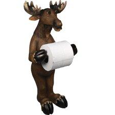 Moose Free Standing Toilet Paper Holder