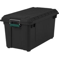 21.8 Gallon Weathertight Storage Tote (Set of 4)