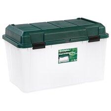 138 Quart Plastic Storage Trunk (Set of 3)
