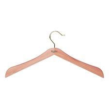 Standard Hanger without Bar in Natural Cedar Finish (Set of 4)