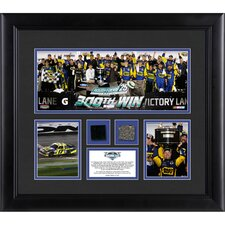 NASCAR 2012 Daytona 500 Champion 3 Photo Collage Framed Memorabilia