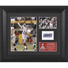 NFL New York Giants Super Bowl XLVI Champions 2-Photo Collectible Framed Memorabilia