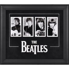 The Beatles 4 Photo Framed Memorabilia