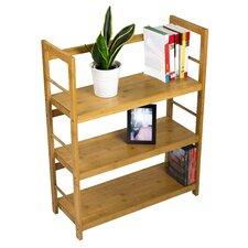 "Storage Bamboo Shelf 31.5"" Accent Shelves"