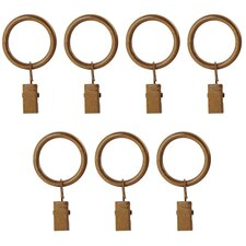 Prestige Clip Curtain Ring (Set of 7)