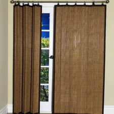 Bamboo Ring Top Curtain Panel