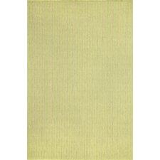 Monterey Green Texture Stripe Indoor/Outdoor Rug