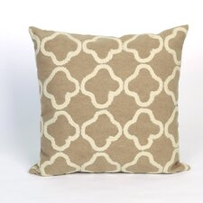 Visions II Crochet Tile Indoor/Outdoor Throw Pillow