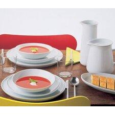 Five Senses White Dinnerware Collection