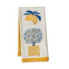 Lemon Tree Blue Yellow Tea Towel (Set of 3)
