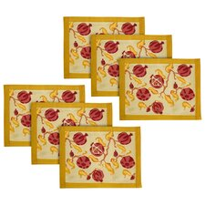 Pomegranate Placemat (Set of 6)
