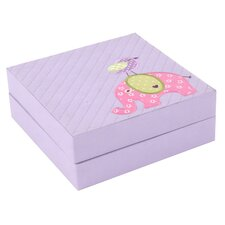 Elephant Quilted Baby Puzzle Box