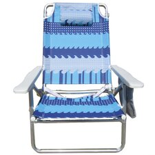 Pure Weather Deluxe 5-Position Beach Chair
