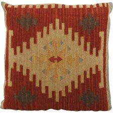 Aqre Kilim Linen Throw Pillow