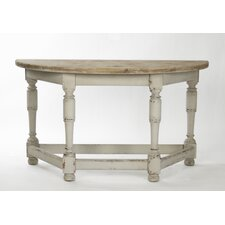 Rouen Distressed Console Table