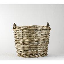 Large French Market Round Basket