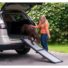 "Carpeted 66"" Pet Ramp"