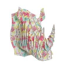 Robbie Rhino Bust Spring Fling Wall Décor