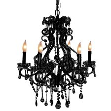 Isabella 6 Light Mini Chandelier