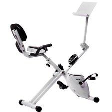 Folding Magnetic Upright Exercise Bike