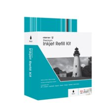 Merax Black Inkjet Refill Kit