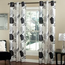 Summer Garden Curtain Panel (Set of 2)