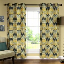Zyphen Curtain Panel (Set of 2)