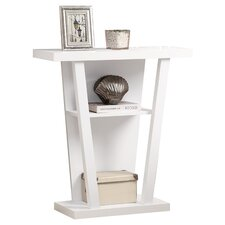 Hall Console Table in White