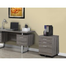 3-Drawer Mobile Lateral File