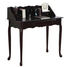 3 Drawer Secretary Desk in Dark Cherry