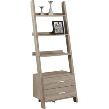 """69"""" Leaning Bookcase"""