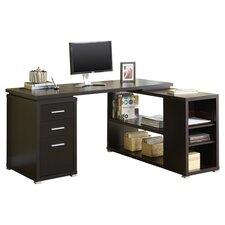 Monarch L-Shaped Computer Desk