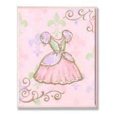 The Kids Room Princess Dress Rec Wall Plaque