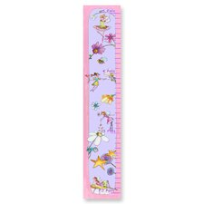 The Kids Room Princesses And Flower Growth Chart