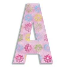 Oversized Flower Letter Hanging Initials
