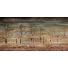 The Woods Graphic Art on Wrapped Canvas