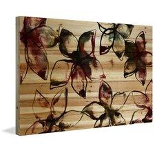 "Floral & Botanical ""Floral Outlines"" Painting Print"