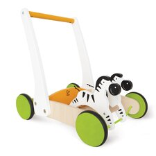 Push and Pull Galloping Zebra Cart