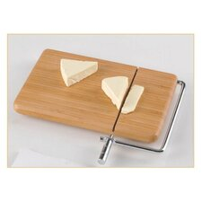 Natural Bamboo Cheese Slicer