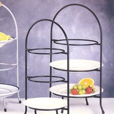 Iron Works 3 Tier Dessert Plate Rack