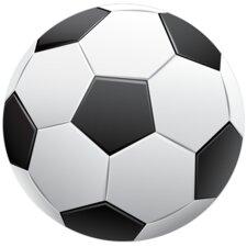 Soccer Single Ball Wall decal