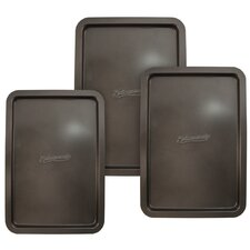 3 Piece Classic Cookie Sheet Set