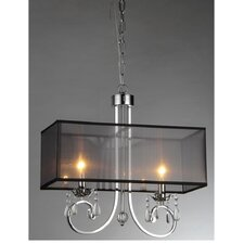 French 2 Light Crystal Chandelier