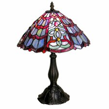 "Handcrafted 18"" H Table Lamp with Empire Shade"