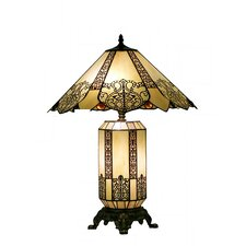"Princess 25"" H Table Lamp with Empire Shade"