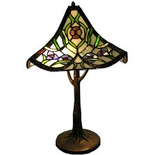 "Roma 23"" H Table Lamp with Bell Shade"