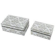 2 Piece Decorative Box Set
